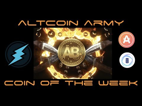 Top Altcoin Picks for Altcoin Army January 2018 Week 3