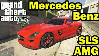 GTA 5 PC - Mercedes Benz SLS AMG Coupe v1.3 & Download Link