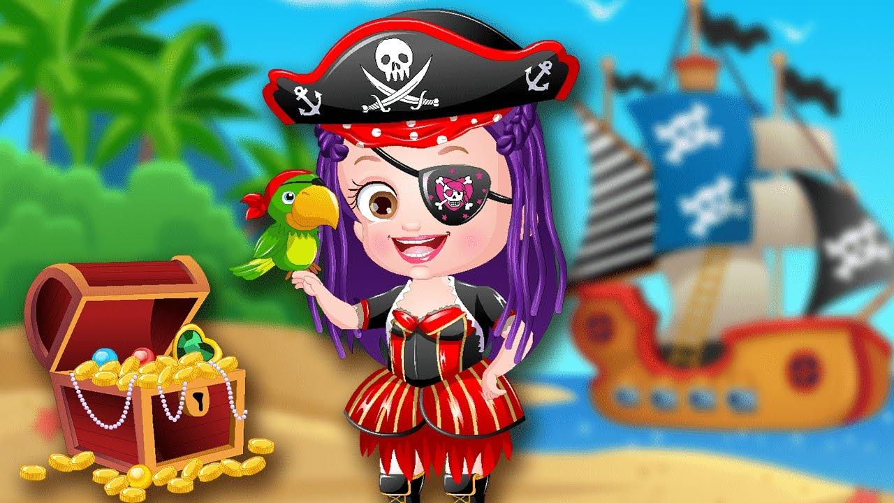 Dress Up Like A Pirate Baby Hazel Makeover Games Dress