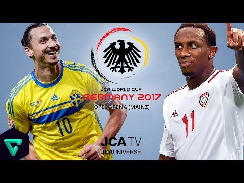 Sweden vs. UAE | Group C | 2017 JCA World Cup Germany | PES 2017