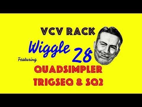 vcv rack wiggle 28 - 12 tone drum loop