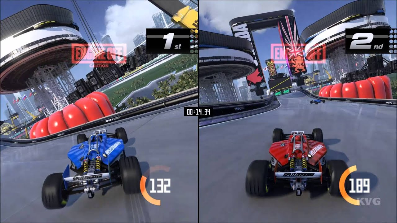 trackmania turbo splitscreen gameplay pc hd. Black Bedroom Furniture Sets. Home Design Ideas