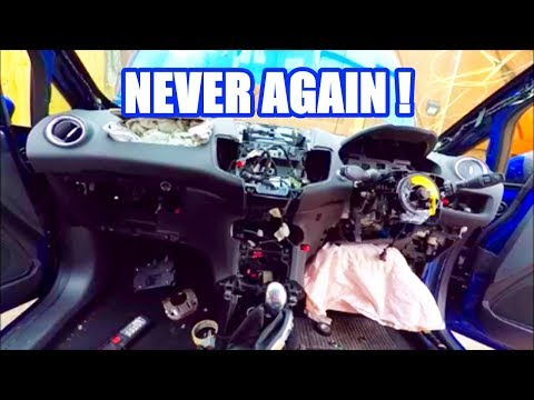 Dashboard Swap In A Fiesta St. ONO PART 7