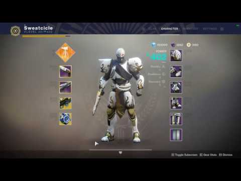 My 400 Power Titan - Destiny 2 Solstice of Heroes Armor Set