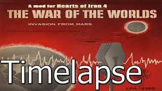 Hearts Of Iron 4 War Of The World Mod Timelapse