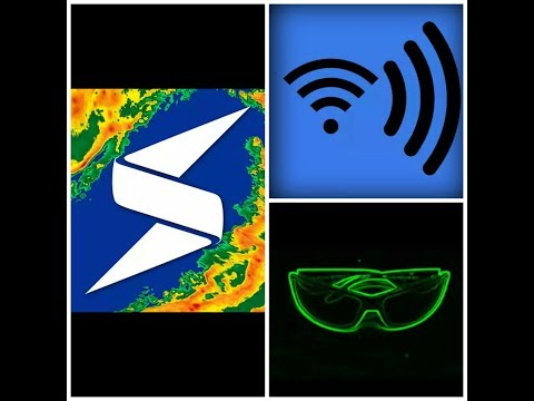 3 Cool Apps In Android.Storm Radar,WiFi Ear,Wire Googgles.In Hindi