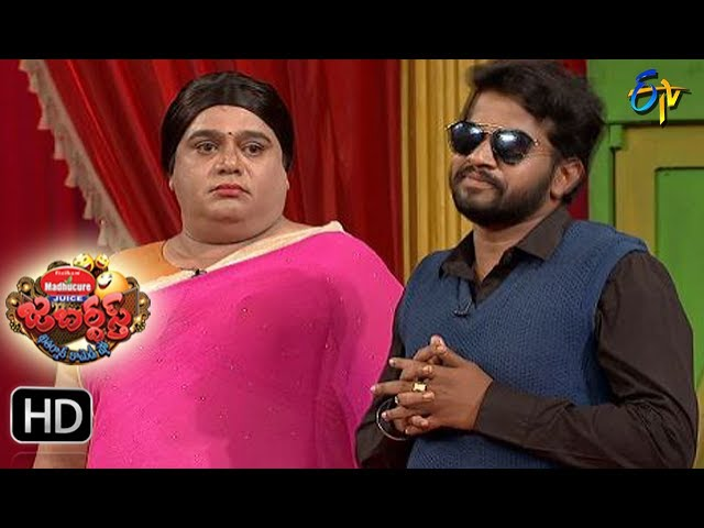 Hyper  Aadi Raijing Raju Performance | Jabardsth | 20th July 2017| ETV  Telugu