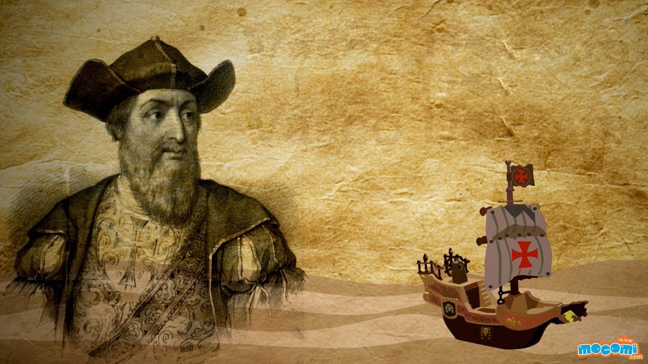 And Vasco Da Gama Vasco Da Gama Portuguese Explorer History For Kids Educational Videos By Mocomi