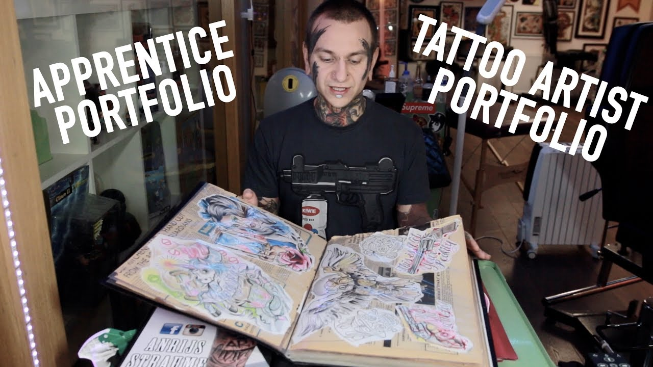 apprentice portfolio tattoo artist portfolio tips and