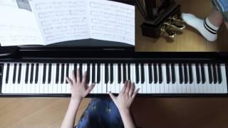 使用楽譜;月刊ピアノ2017年4月号、 2017年3月20日 録画、 映画 『 チア...