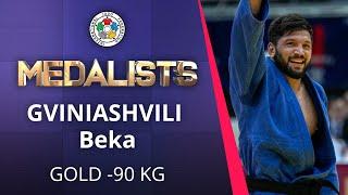 GVINIASHVILI Beka Gold medal Judo Osaka Grand Slam 2019