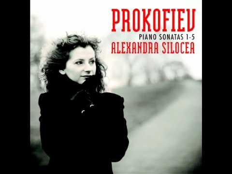 Prokofiev Piano Sonata No. 5 Op. 135 in C Major, II Mov (Alexandra Silocea, Pianist)