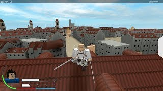 Yes I am streaming Roblox (Attack On Kyojin)