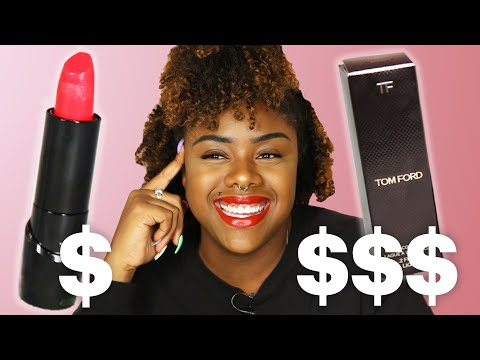 Can You Tell $1 Vs. $57 Lipstick?