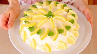 TORTA DELIZIA AL LIMONE di BENEDETTA Ricetta facile - Lemon Roll Cake Easy Recipe