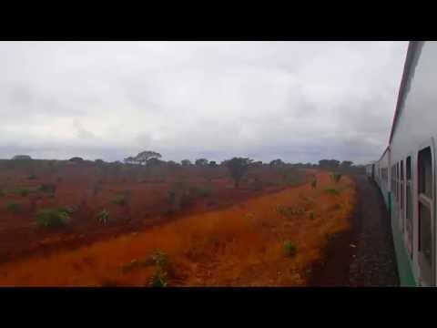 Train Ride in Mozambique.