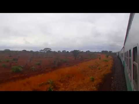 Train Ride in Mozambique: Maputo to Ressano Garcia.