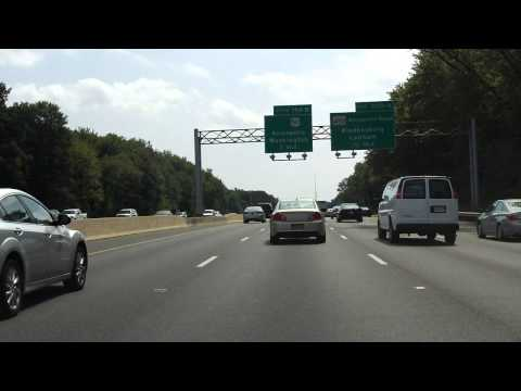 Capital Beltway (Interstates 95/495 Exits 22 To 19) Southbound/inner Loop