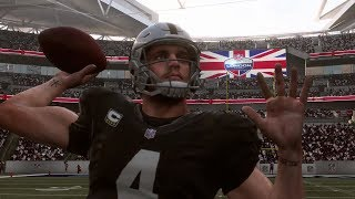 NFL London Game 10/14 Seattle Seahawks vs Oakland Raiders Full Game Wembley Stadium NFL Sunday 10/14