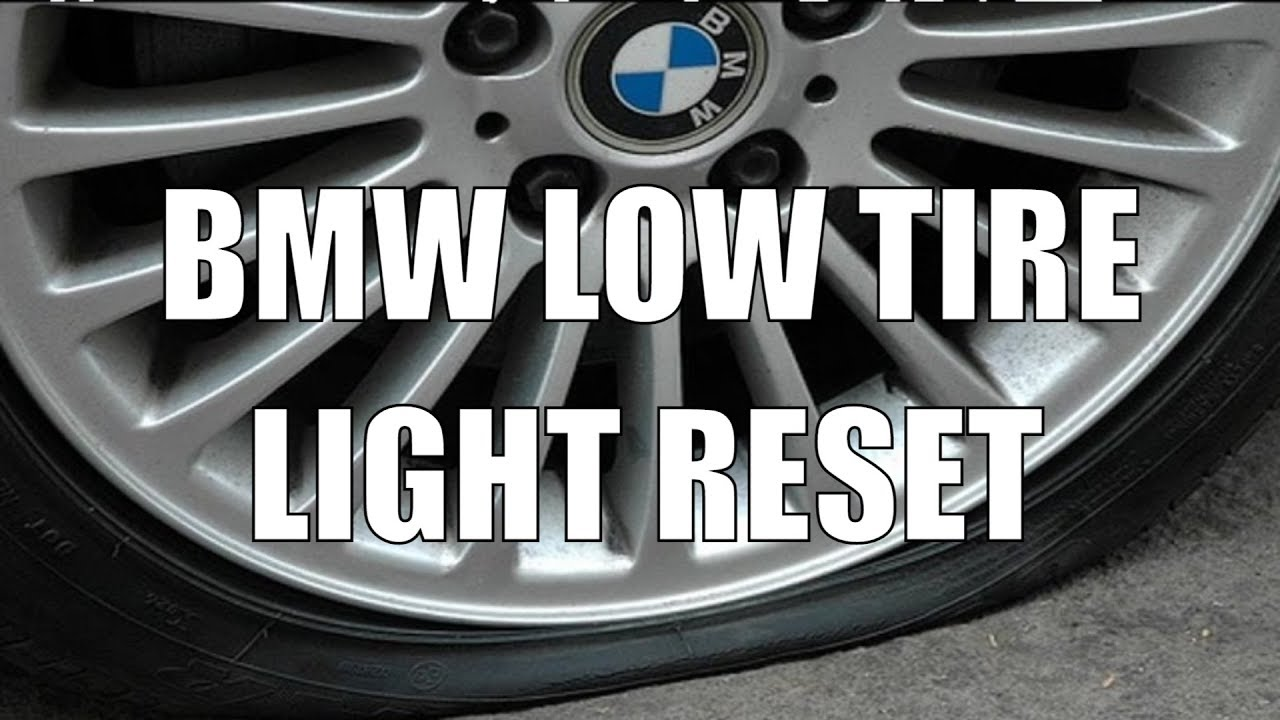 Reset Bmw 335i Tpms Low Tire Warning Light Video Youtube