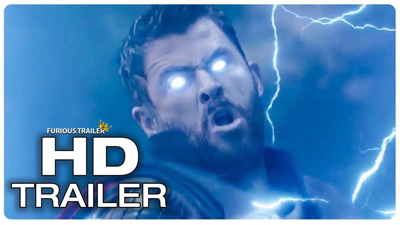 Avengers Infinity War Thor Stormbreaker Vs Black Order Trailer 2018