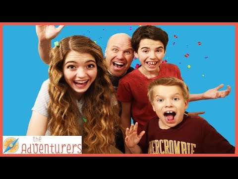 Real 24 Hour Challenge In Real Life! Family Fun Challenge / That YouTub3 Family I Family Channel