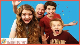 Real 24 Hour Challenge In Real Life! Family Fun Challenge / That YouTub3 Family I Family Channel thumbnail