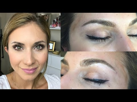I got Microblading Done! By Lisa J Makeup