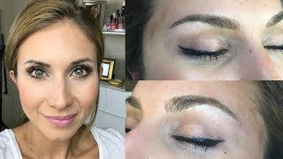 I got Microblading Done! FAQs, Process during Appointment, After care | Lisa J Makeup