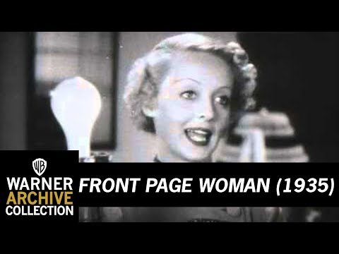 Front Page Woman (Original Theatrical Trailer)