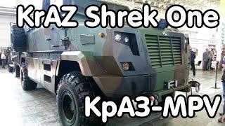 Бронеавтомобиль KrAZ Shrek One (КрАЗ-MPV) - видео-обзор(КрАЗ-MPV (KrAZ Shrek One) - семейство украинских бронеавтомобилей с V-образным днищем, разработанных компанией