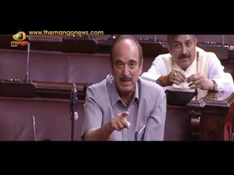 Heated Argument Between Anand Sharma, Mukhtar Abbas Naqvi & Ghulam Nabi Azad | Arunachal Crisis