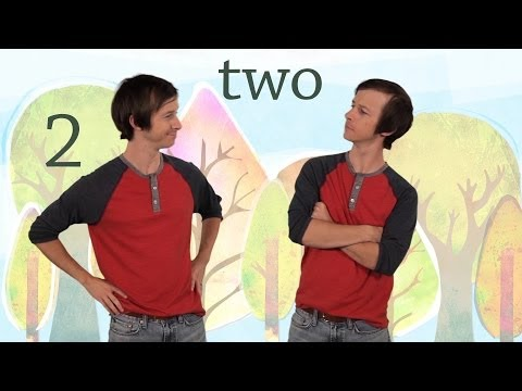 2: The Number Two - Kids Learn to Count Numbers