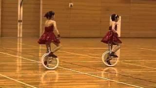 一輪車 ペア演技 フィーリング フリーナイト