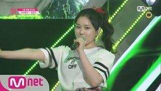 [Produce 101] 1:1 EyecontactㅣKim Yun Ji – Group 2 f(x) ♬La chA TA EP.04 20160212