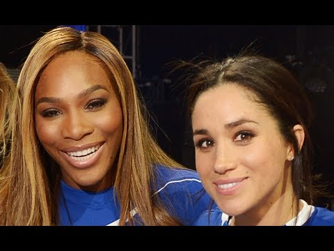 Meghan Markle says friend Serena Williams will be 'an amazing mom'