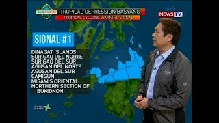 BT: Weather update as of 11:54 a.m. (February 13, 2018)