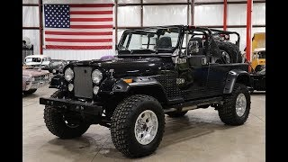 1983 Jeep CJ-7  Black