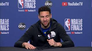 Golden State Warriors Saturday Media Availability | NBA Finals Game 2