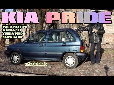Złomnik: Kia Pride, Ford Festiva, Mazda 121, Saipa Saba