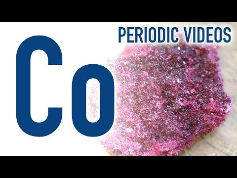 Cobalt - Periodic Table of Videos