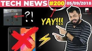 Redmi 6, 6A & 6 Pro👎, Nokia 5 Cameras, Boost Credit, Moto g6 Plus, 200th Episode, Amazon-TTN#200