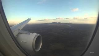 Fantastic Clouds Palma de Mallorca A320 Approach and Landing