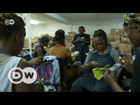 Clothing Bank in South Africa | DW English