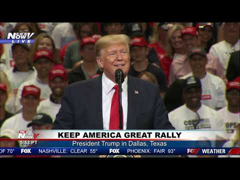 FULL TRUMP RALLY: President Trump holds campaign rally in Dallas, Texas