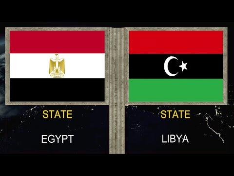 Egypt vs Libya - Army Military Power Comparison 2020