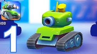 Tanks A Lot: 3v3 Brawls - Gameplay Walkthrough Part 1 - Tutorial (iOS, Android)