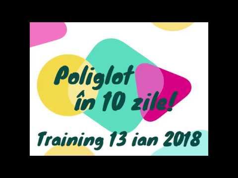 Training Poliglot în 10 zile!   Cristina Bujoreanu