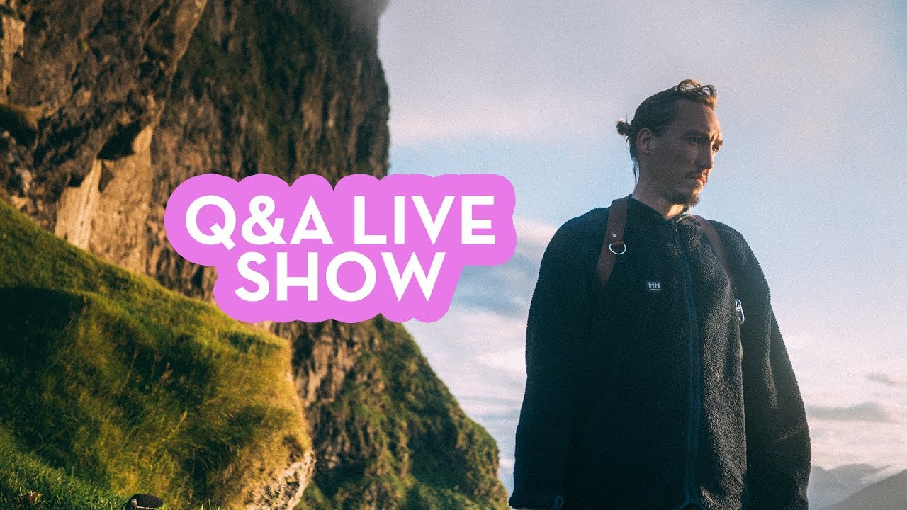 Building a personal brand, meeting subjects and comparing yourself to  others - Q&A LIVE