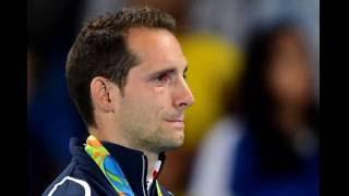 Renaud Lavillenie, «humilié» par le public brésilien, fond en larmes sur le podium